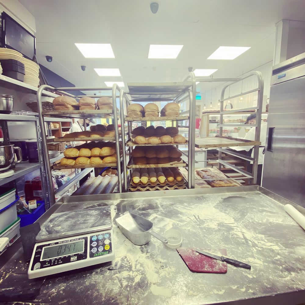 Made with passion at Carrie's Bakery, Ennis